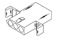 molex  093 u0026quot  connector housing 3 pin receptacle 03
