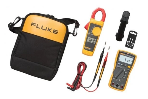 Fluke Electrician Dmm And Clamp Meter Combo Kit 117 323 Kit