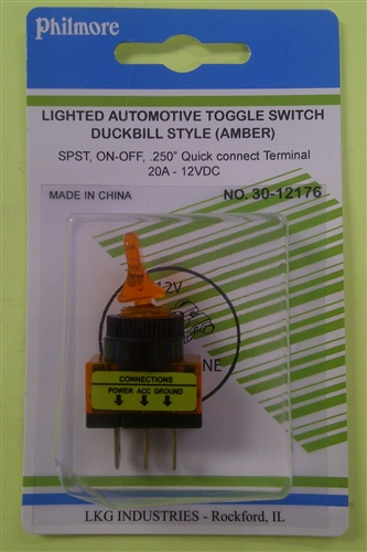 Philmore Duckbill Switch Amb 30 12176