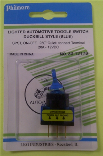 Toggle Switches Illuminated Toggle Switches Onoff Handle Tipped Led