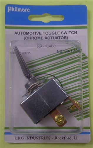 Philmore Automotive Toggle Switch W Screw Terminals 30