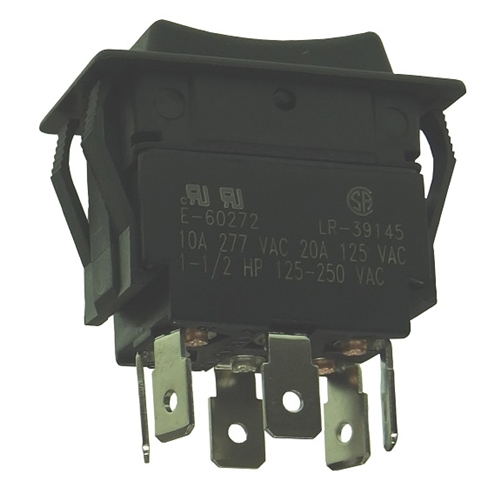 Philmore Dpdt Ctr Off Momentary Rocker Switch 30 695