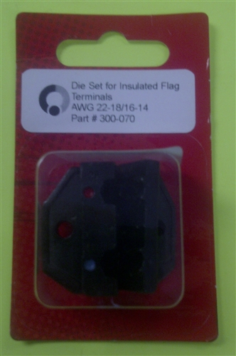 Eclipse Die For Insulated Flag Terminals 22 14 Awg 300 070