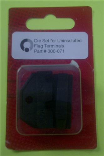 Eclipse Die For Uninsulated Flag Terminals 22 14 Awg 300