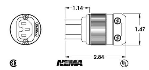 marinco h  d ac iec320 electrical connector 320iec15