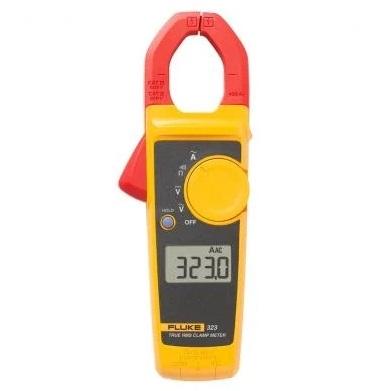 Fluke 600v 400a Ac True Rms Digital Clamp Meter 323 Old 321