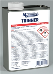 MG THINNER/CLEANER FOR CONFORMAL COATING *ROHS* 435-1L