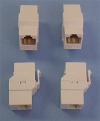 INTELLINET CAT6 F-F KEYSTONE FEED-THRU COUPLER 505147       OLD# UTP7205