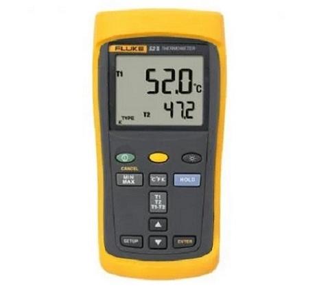 Fluke Dual Input Thermometer 52 2