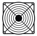 ROTRON FAN GUARD BLACK PLASTIC FOR 120MM FAN 550481