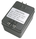 MODE AC WALL ADAPTER 24VAC@1.67A 68-241AS-1                 CLASS II SCREW TERMINALS  2 PIN PLUG (NO EARTH GROUND)