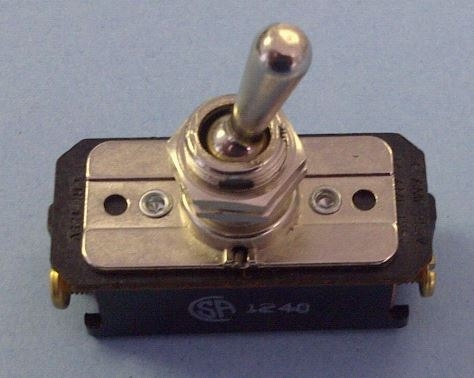 Tyco Dpst On Off 16a 125v Ac Dc 1hp Toggle Switch 7320k3