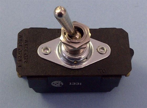 tyco dpst on off 20a 250v ac dc toggle switch 7402k4 1 1. Black Bedroom Furniture Sets. Home Design Ideas