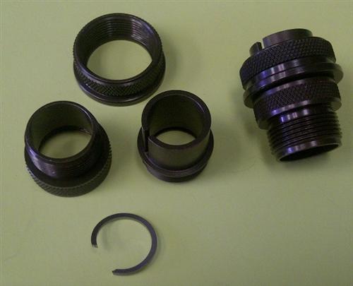 Amphenol Straight Plug Shell 97 3106a 16s