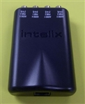 INTELIX DESIGN AUDIO BALUN: 4 MONO OR 2 STEREO AVO-A4       4 RCA-RJ45