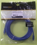 SIGNAMAX CAT5E PATCH CORD W/BOOT BLU (25FT) C5E114BU25FB    CABLE