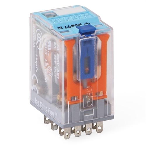 Releco Miniature Relay 4pdt 24vdc W Led C9a41x 24vdc