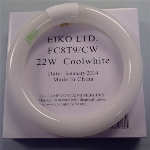 Eiko Circline Magnifier Lamp Fc8t9 Cw Rs