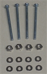 BEACON FAN HARDWARE FOR 25MM & 38MM SIZE FANS FH2538        INCLUDES:(4)SCREWS(4)NUTS(8)WASHERS