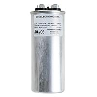 Nte Motor Run Capacitor 45uf 440vac Mrrc440v45 Rated
