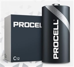 DURACELL C PROCELL ALKALINE BATTERY SP12 PC1400             **THIS PRODUCT SOLD TO BUSINESSES ONLY**