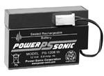 POWERSONIC 12V 0.8AH W/LEADS SLA BATTERY PS1208WL