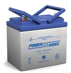 POWERSONIC 12V/35A SLA BATTERY (NUT/BOLT) PS12350
