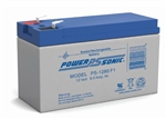 POWERSONIC 12V 8.0A.H. W/.250 QC SLA BATTERY PS1280F2
