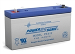 POWERSONIC 6V/1.2AHR GELL BATTERY PS612