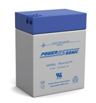 POWERSONIC 6V/13AHR GELL BATTERY PS6120