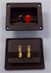 MCBRIDE RECTANGULAR RECESSED TERMINALS FOR SPEAKERS TC27