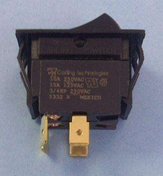 Carling Switch Dpst Rocker Tigk516sblnbl Tigk516sblnblxn