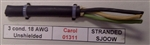GENERAL CABLE 18/3 SJ00W 90C DEG-300V 01311                 (76M = FULL ROLL) CAROL BRAND
