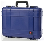 "UK 518 CASE W/FOAM BLU (18.5X14.6X5.7"") 02007"