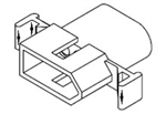 "MOLEX .093"" CONNECTOR HOUSING 4 PIN PLUG 03-09-2041P"