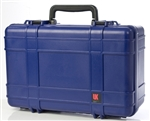 "UK 821 CASE W/FOAM BLU (21.6X14.6X9"") 03008"