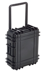 "UK 822 CASE W/FOAM METAL LATCHES BLK (21.9X18X8.4"") 03641"
