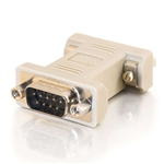 C2G DB9MF MALE TO FEMALE NULL MODEM ADAPTER 9 PIN 08075     DSUB SERIAL