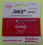 "MOLEX ECONOMY .062"" EXTRACTION TOOL 11-03-0005P"