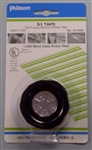 "PHILMORE BLACK S/I TAPE 1""X10FT (-65F TO 500F) 8KV 12-3402"