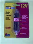 MARINCO H/D LOCKING 12V PLUG 12VPG                          ** MAX RATING IS 15 AMPS  **   ACCOMMODATES 16 AWG WIRE