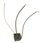 LEVITON 3-WIRE SNAP-IN AC OUTLET 1374-1