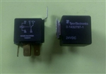 TYCO 24VDC SPDT RELAY W/BRACKET 30A-NC/40A-NO 1432797-1     AUTOMOTIVE STYLE P&B# VF4-45H11 *16VDC RESISTIVE LOAD*