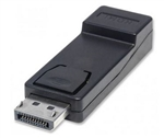 MANHATTAN D-PORT MALE / HDMI ADAPTER FEMALE PASSIVE 151993  DISPLAY PORT-VIDEO/AUDIO/USB DATA