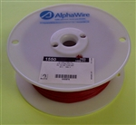ALPHA 24AWG STRANDED RED HOOKUP WIRE 1550-1000RED           (1000 FEET)