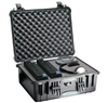 "PELICAN CASE WITH FOAM BLACK (MFR# 1550-000-110) 1550BLK    (ID 18.43""L X 14.00""W X 7.62""D)"