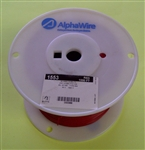 ALPHA 20AWG STR RED HOOKUP WIRE 1553-1000RED