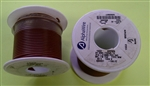 ALPHA 20AWG STRANDED BROWN HOOKUP WIRE 1553-100BRN          (100 FEET)