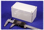 "HAMMOND GREY ABS PLASTIC WATERTIGHT ENCLOSURE 1554DGY       (RAL7035 GREY) 4.7"" X 2.6"" X 2.4"" *SPECIAL ORDER*"