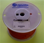 ALPHA 18AWG STRANDED ORANGE HOOKUP WIRE 1555-1000ORG        (1000 FEET)